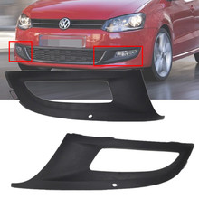 1Pair For 2010-2013 VW Polo 6R Front Lower Bumper Fog Grills Left & Right Side