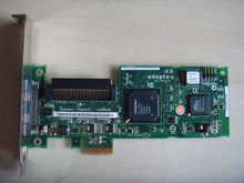 server Adapter lan card for 29320LPE Adaptec ASC-29320LPE PCI-E X1 SCSI HDD RAID Controller card host card(China)