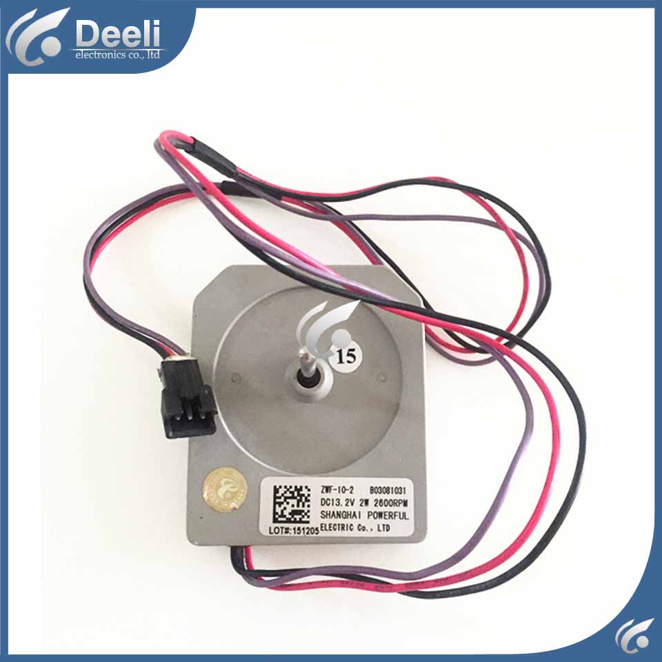 Good working for refrigerator ventilation fan motor ZWF-10-2 reverse rotary motor<br>