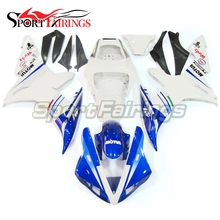 Fairings Fit Yamaha YZF 1000 R1 Year 2002 2003 02 03 Plastics ABS Motorcycle Fairing Kit Bodywork Cowling White Blue - Sportfairings Co. Ltd. store