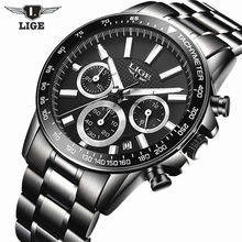 Buy Reloj Hombre 2017 Top Brand Luxury LIGE Fashion Chronograph Sport Mens Watches Military Quartz Watch Clock Man Relogio Masculino for $18.99 in AliExpress store