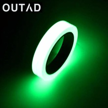 OUTAD 10M Luminous Tape Self-adhesive Glow In Dark Safety Stage Home Decorations Night Vision Safety Security Warning Tape(China)