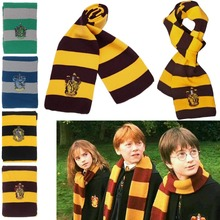 % Fashion Harry Potter scarf Winter spring Scarf Women men kids Scarf  knitting Woolen Blanket Wraps Female Scarves And Shawls
