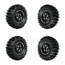 "4Pcs/lot 96mm 1.9"" Alloy Tires & Wheels Rim 12mm Hex Wide:36mm For 1:10th RC Crawler Racer Climbing Car HPI AXIAL SCX10"