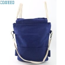 Charming Nice CONEED Women Fashion bags Canvas  bag Large Tote Ladies Purse Backpacks Best Gift Drop Shipping  Y35