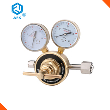 Piston High Pressure 20Mpa Inlet 10Mpa Outlet Oxygen Arogn Nitrogen Air helium Gas Regulator Brass