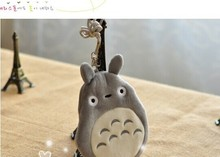 KAWAII 3D NEW MY Neighbor TOTORO Purse ; Neck Phone Pouch BAG CASE + ID & Bus Cards Holder Case Coin Purse Wallet Pouch Case(China)