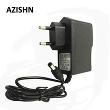 AZISHN AC 100-240V DC 12V 1A EU Plug AC/DC Power adapter charger Power Adapter for security CCTV Camera (2.1mm * 5.5mm)(China)
