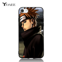 Ninja Uzumaki Naruto Brothers Cartoon 7 Choice For iPhone 6 6s 7 Plus Case TPU Phone Cases Cover Mobile Protection Decor Gift(China)