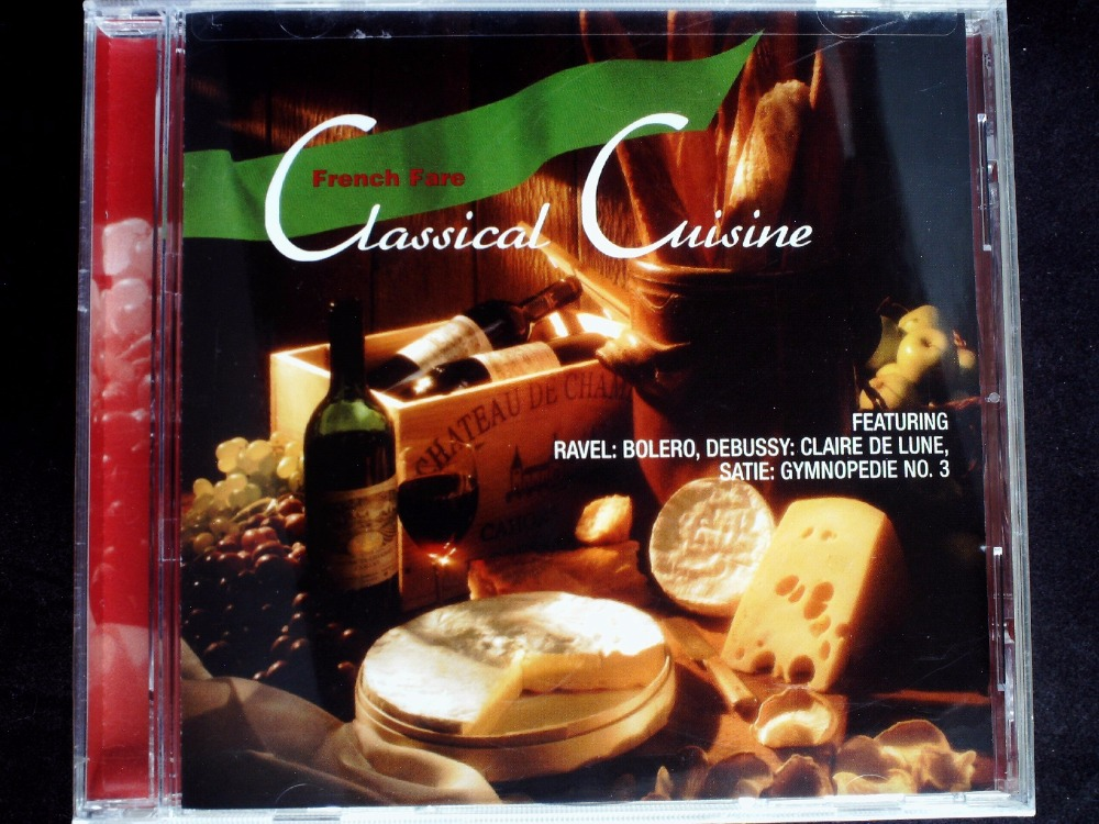 Classical Cusine - French Fare USA Original CD NEW SEALED  -  41CD Store store