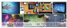 50 inch Infrared Touch Panel for Digital Signage / interactive multi touch overlay-32 Touch Points,No light spots