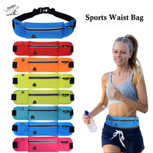 [10*40cm] Tanluhu Quality Multifunction Running Waist Bag Sport Packs For Music With Headset Hole-Fits Smartphones Sports Bags(China)