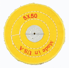 5'' 125mm Sawing Cloth Polishing Wheel for Various Glazing Machine to Buffing Metals & Grinding Crystal 50 Floors Covers