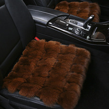 Winter fox fur car seat cover / wool short plush car seat cushion for Volkswagen Lavida lamando magotan Bora Auto Parts