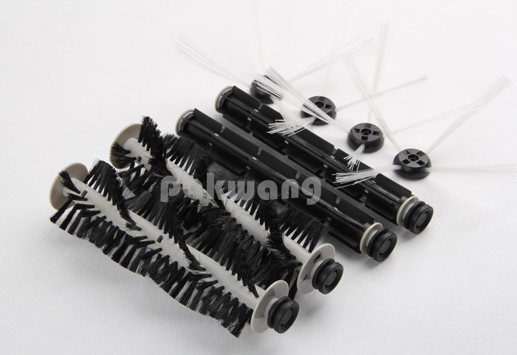 Original A320 Vacuum Cleaner Parts, Side Brush Rubber Brush and Hair Brush, Seebest C565 Parts<br><br>Aliexpress