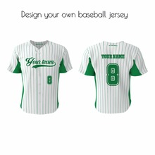 Customized design jersey with printed youth throwback shirts sublimation baseball jersey