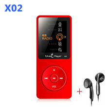 Mini MP3 player 16GB With Built-in Speaker USB MP3 Music Player with speaker mp-3 mp3-player IQQ X02 mp 4 16GB player walkman fm
