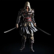 27cm Assassin's Creed 4 Edward James Kenway Play Arts Kai PVC Action Figure Toys Collectors Model With Box
