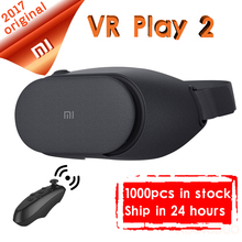 Newest Xiaomi VR Play 2 Play2 Original Mi VR Virtual Reality Glasses 3D Glasses For 4.7-5.7 inch Smart Phones in stock(China)