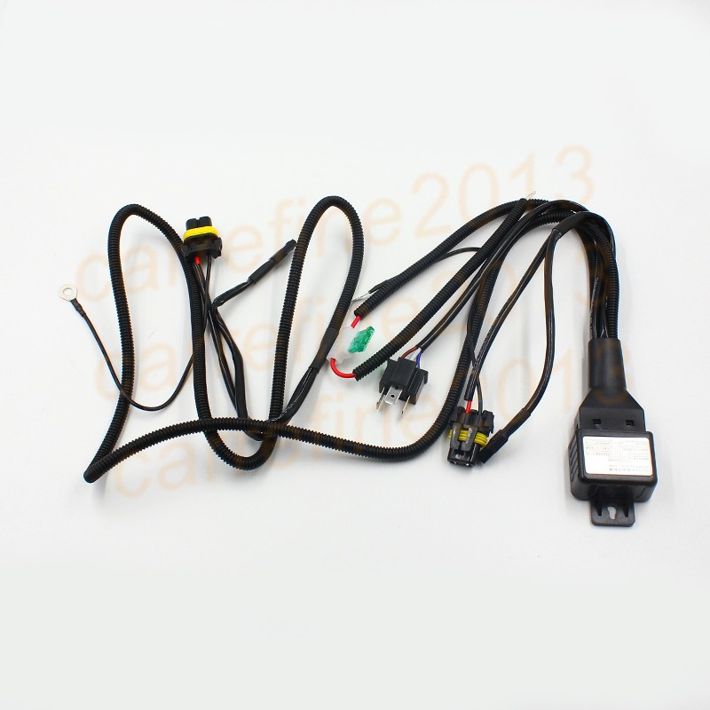 font b 35w b font 55w font b HID b font Bi relay font b online buy wholesale 12v 35w wiring harness controller hid from 12V DC Battery at gsmx.co