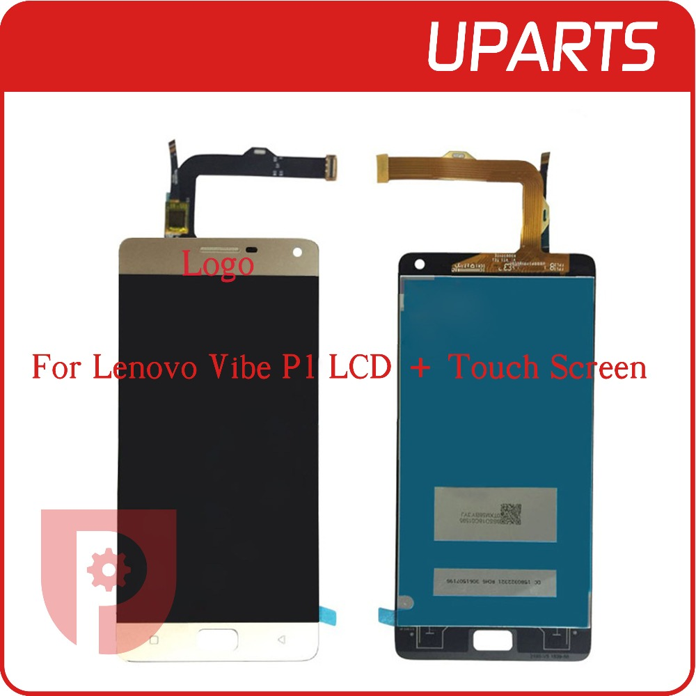 A+ High Quality For Lenovo Vibe P1 Full Lcd Display Touch Screen Digitizer Assembly Complete Sensor Black White Gold+Tracking No<br><br>Aliexpress