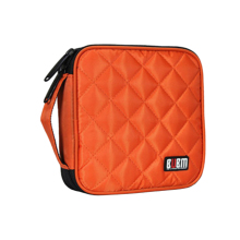 BUBM 32 Capacity Grid Square Shape Waterproof CD/ DVD Storage Wallet CD Storage Bag CD Organizer Case