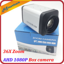 HD 2.0MP AHD 1080P Box camera 36X Zoom 3-90mm lens 2 IN 1 960P Box Cameras WDR Auto IRIS DSP Zoom RJ485 Camera For AHD DVR CCTV(China)