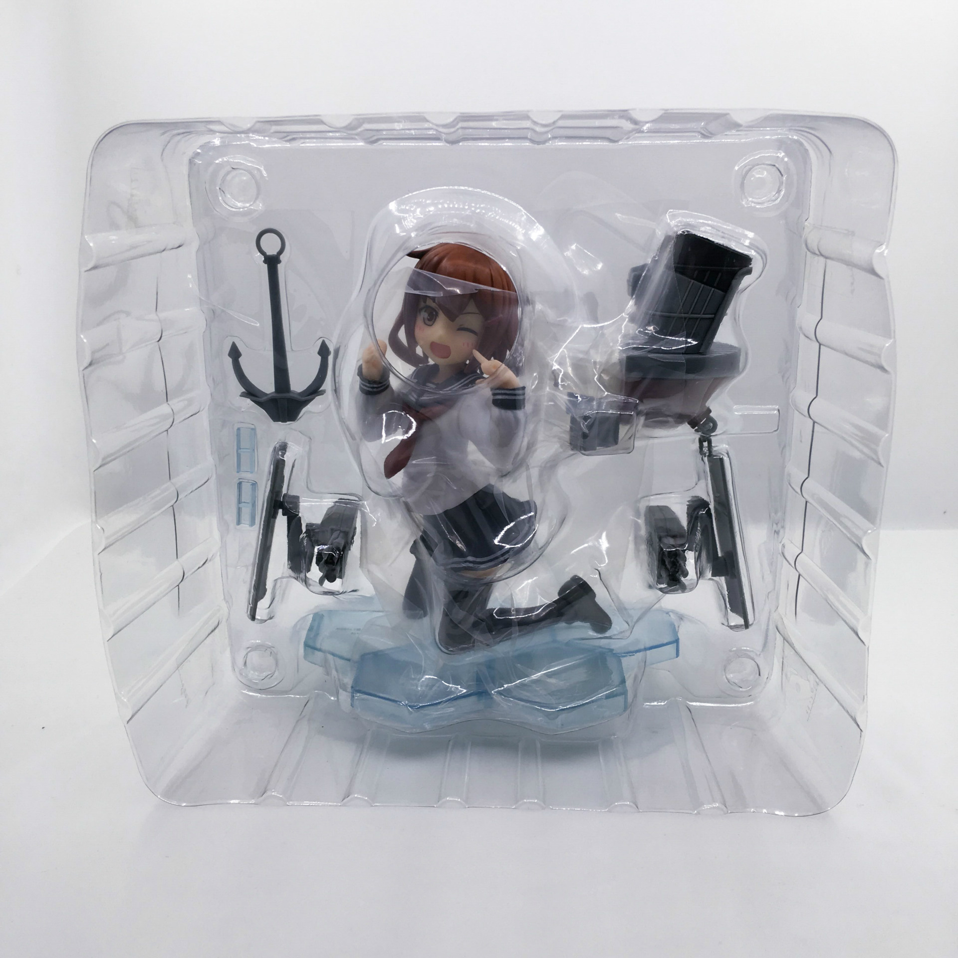 Kantai Collection Ikazuchi Ver. 18 Scale Pre-painted PVC Action Japanese Anime Figures Collectible Model Toys Doll 12CM New (4)