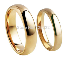 Polished Finish men and woman Tungsten ring dome with IPG,black,rose gold plating wholesale and drop shipping(China)