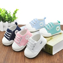Spring Summer Newborn Baby Boys Girls Crib Shoes First Walkers Infant Pre Walkers Non-slip Sneakers Shoes(China)