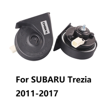 Special For SUBARU Trezia 2010-2017 Car Horn 12V Loudness 110-129db Loud Horn Long Life Time Auto Snail Horn High Low Klaxon(China)