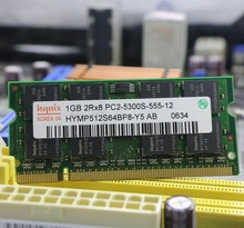 Original for Hynix planform 1GB PC2-5300S DDR2 667 667Mhz DDR 2 Laptop Memory 2G pc2 5300 Notebook SODIMM RAM for intel for amd