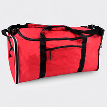Hot Sales Large Capacity Polyester Travel Duffel Bags Foldable Bag Single Shoulder Strap For Teens