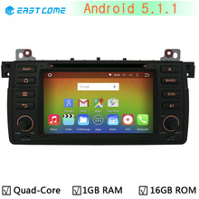 1024*600 Car DVD Player For BMW 3 Series E46 318 320 325 330 M3 Rover 75 MG ZT Radio GPS Stereo Android 5.1.1 Quad Core 1.6G CPU