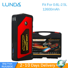 LUNDA Best Quality 12V Portable Mini Jump Starter Car Jumper Booster Power Mobile Phone Laptop Power Bank Battery Charger(Hong Kong)