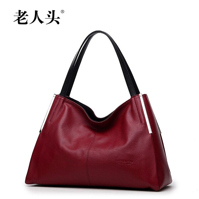 2016 New LAORENTOU brand genuine leather  women bag fashion top quality  fashion women handbags shoulder bag<br><br>Aliexpress