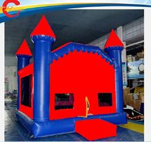 free air shipping to door,4.5*4m air bounce castle,bouncy casltle,inflatable jumping castle(China)