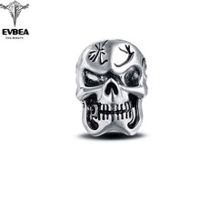 Racing Stretch Rock Boho Silver Gothic Punk Skull Big Adjustable Rotating Bikers Motorcycle Rings Men's & Boys' Jewelry