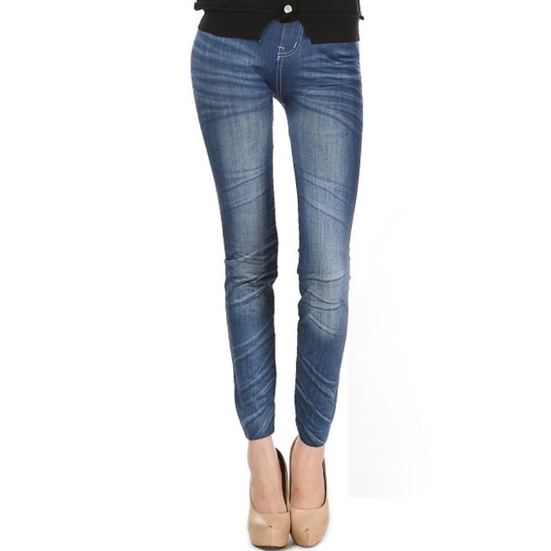 Comfortable Skinny Pants Denim Legins Women Fashion Sexy Women Jean Skinny Leggings Stretchy Slim Leggings 15