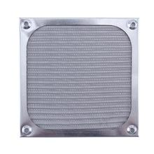 120mm Fan Aluminum Dustproof Cover Dust Filter for PC Cooling Chassis Fan Grill Guard(China)