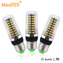 E27 Dimmable Led Bulb Lamp SMD5733 15W 10W 5W Lampada Led AC220V Ampoule Dimmer 25% 50% 100% Three Mode Hotel Kitchen Corn Light(China)