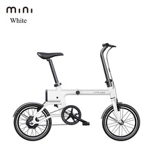 Mini folding electric ebike 36V power recovery smart urban transport Portable lithium battery smart electric motor bicycle