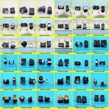 36models,1800pcs DC power jack connector, DC Charging power jack female Socket for Laptop Tablet, Mini Pad,Computer