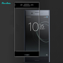MicroData For Sony Xperia XZ Premium Tempered Glass 3D Full Coverage mobile phone Screen Protector film guard screen saver foil