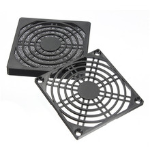 80mm Dustproof Case Cover Fan Dust Proof Filter Mesh Guard for Computer PC Cleaning