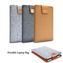"11"" 13"" 15"" Hot Portable Wool Felt Soft Laptop Bag Notebook Liner Sleeve Cover Mac Tablets PC Pouch Case For 13 inch Oc 25"