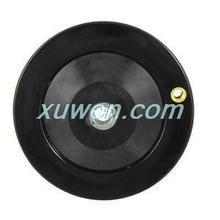 1pcs 12mm x 125mm Height Black Ripple Hand Wheel Black for Milling Machine w Revolving Handle for free shipping *(China)