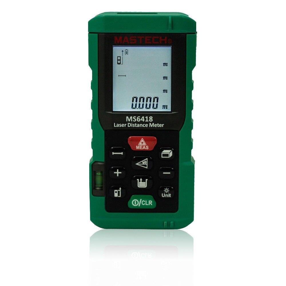 MASTECH MS6418 80M Range Handheld Laser Distance Meter<br><br>Aliexpress