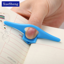 10 PCS Thumb Convenient Multifunction Book Holder Bookmark Finger Ring Book Markers for Books Stationery Gift(China)