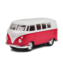 VW T1 Mini Bus Van 1962 T1 Red 1:36 Diecast Models Toys model cars Alloy Car Diecast Metal Pull Back Car Toy For Gift Collection